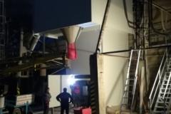 Opláštění betonárny