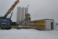 demnotáž betonárny ELBA - Nizozemsko - Haag