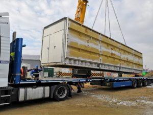 nakládka betonárny ELBA - Nizozemsko - Haag